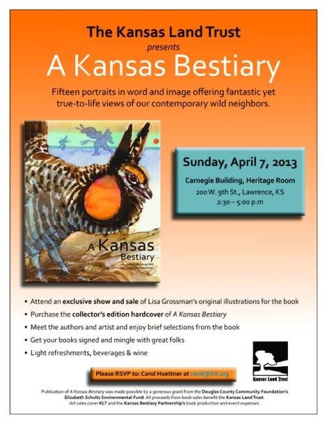 KLT Bestiary flyer