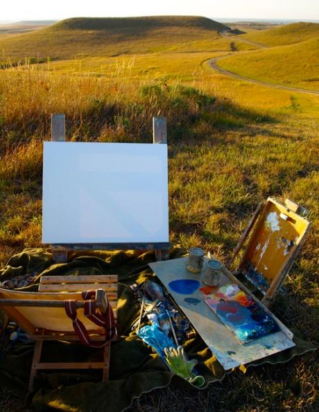 Konza painting site