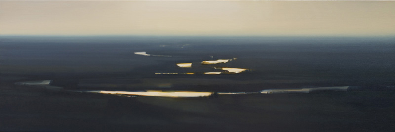 Sharp Light From the Prairie River